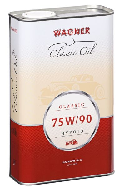 WAGNER Hypoid Gear Oil SAE 75W/90 mineral 1 litre