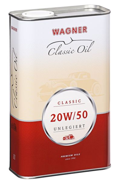 WAGNER Classic Motorenöl SAE 20W/50 unlegiert 1 Liter