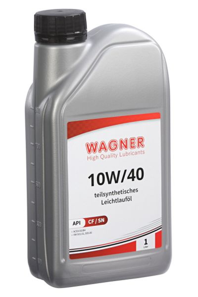 WAGNER Low-Friction Engine Oil SAE 10W/40 - 1 litre