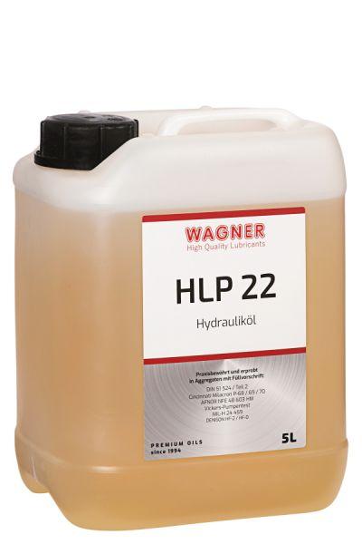 WAGNER Hydraulikoel HLP 22 5 LIter