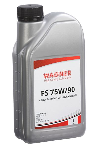 WAGNER Hypoid Gear Oil SAE 75W/90 fully synthetic 1 litre