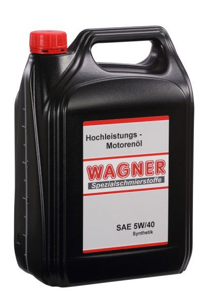 WAGNER Hochleistungsmotorenöl SAE 5/40W 5 Liter