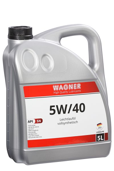 WAGNER High-Performance Engine Oil SAE 5/40W 5 litres