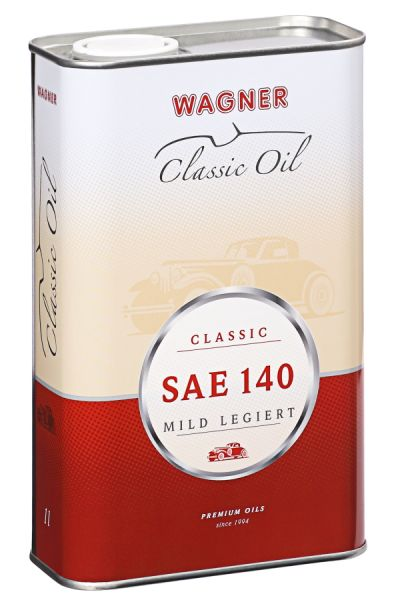 Classic Gear Oil SAE 140 mildly alloyed 1 litre