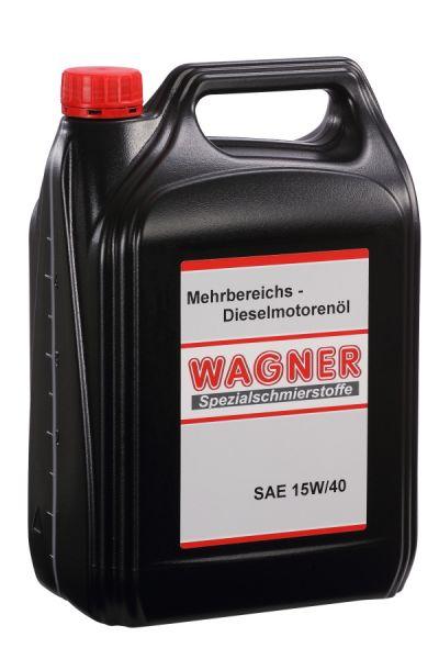 WAGNER Diesel Engine Oil SAE 15W40 5 litres